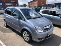 USED 2008 08 VAUXHALL MERIVA 1.4 BREEZE PLUS 5d 90 BHP