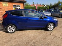 USED 2015 15 FORD FIESTA 1.2 ZETEC 3d 81 BHP FINANCE AVAILABLE!