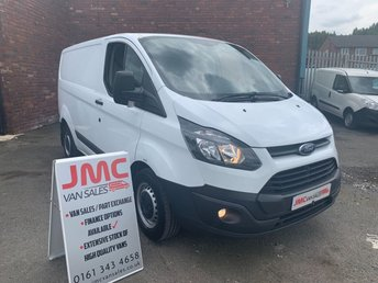 2015 FORD TRANSIT CUSTOM 2.2 310 100BHP 1 OWNER FROM NEW FULL SERVICE HISTORY £7995.00