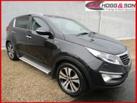 2011 KIA SPORTAGE 2.0 CRDI KX-3 5dr 4X4 AUTO 134 BHP *LOCAL OWNER FROM NEW* £8595.00