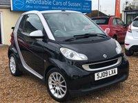 2009 SMART FORTWO CABRIO 1.0 PASSION MHD CONVERTIBLE AUTO £3695.00