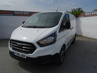 2018 FORD TRANSIT CUSTOM 2.0 300 BASE P/V L1 H1 1d 104 BHP £14995.00
