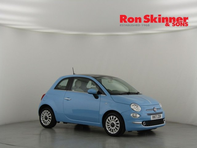 View our 2017 17 FIAT 500 0.9 TWINAIR LOUNGE DUALOGIC 3d AUTO 85 BHP