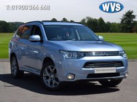 2014 MITSUBISHI OUTLANDER 0.0 PHEV GX 4H 5d AUTO 162 BHP £14389.00