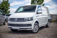 USED 2018 68 VOLKSWAGEN TRANSPORTER T30 TDI HIGHLINE SWB DSG (AUTO) GEARBOX 150 BLUEMOTION EURO 6 Sat Nav (Discovery Media Unit), Electric Folding Mirrors, Single Seats, Cab Carpet, Heated Rear Window and Wash Wipe.