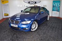 USED 2009 59 BMW 3 SERIES 3.0 325i M Sport 2dr 1 OWNER, Sunroof, Leather