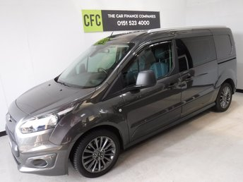2016 FORD TRANSIT CONNECT 1.6 240 TREND P/V 1d 114 BHP £13995.00