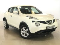 USED 2016 66 NISSAN JUKE 1.5 VISIA DCI 5d 110 BHP 1 OWNER | ALLOYS | AIR CON |