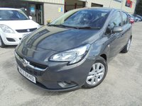 USED 2015 VAUXHALL CORSA 1.4 DESIGN 5d 89 BHP Excellent First Car, Low Insurance, No Deposit Finance Available