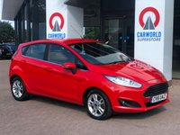 USED 2016 16 FORD FIESTA 1.5 ZETEC TDCI 5d 74 BHP 1 OWNER | BLUETOOTH | DAB |