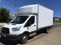 2015 FORD TRANSIT LUTON 350 L4 DRW 125ps TAIL LIFT £12395.00