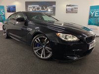 USED 2014 59 BMW M6 4.4 M6 GRAN COUPE 4d AUTO 553 BHP HUGE SPEC, F/S/H, IMMACULATE!!