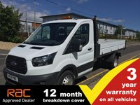 USED 2018 18 FORD TRANSIT TIPPER 350 L2 RWD DRW 1-Stops 130ps