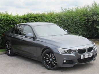 2013 BMW 3 SERIES 2.0 320I XDRIVE M SPORT 4d AUTOMATIC £13000.00