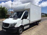 2016 MERCEDES-BENZ SPRINTER LUTON 314 Long CPD 140ps Tail Lift £16495.00