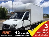 USED 2016 66 MERCEDES-BENZ SPRINTER LUTON 314 Long CPD 140ps Tail Lift