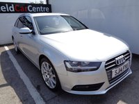 USED 2014 14 AUDI A4 1.8 AVANT TFSI SE TECHNIK 5d 168 BHP £237 A MONTH LEATHER SEATS  SATELLITE NAVIGATION  BLUETOOTH DAB RADIO PRIVACY GLASS CLIMATE AND CRUISE CONTROL