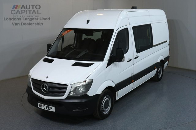 2015 15 MERCEDES-BENZ SPRINTER 2.1 313 CDI MWB 129 BHP 8 SEATS COMBI CREW MESS MOT UNTIL 30/06/2020