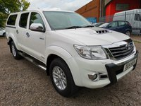 2014 TOYOTA HI-LUX 3.0 INVINCIBLE X 4X4 D-4D DOUBLE CAB AUTO *LEATHER + SAT NAV* £SOLD