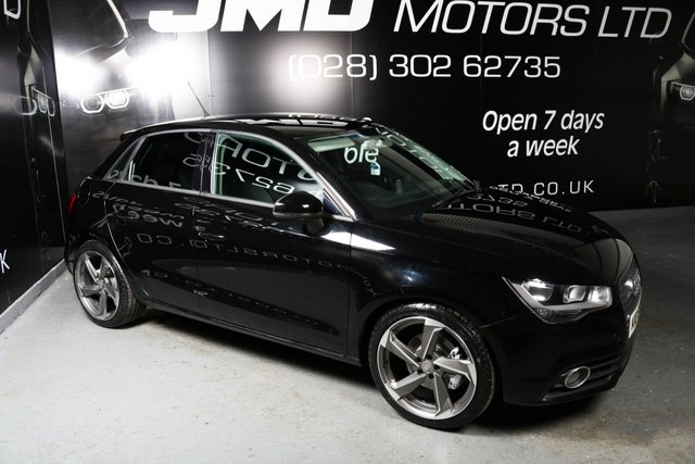 2012 AUDI A1 1.6 SPORTBACK TDI SPORT 5d 103 BHP BLACK EDITION STYLE (FINANCE AND WARRANTY)