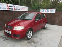 USED 2005 05 FIAT PUNTO 1.2 8V ACTIVE SPORT 3d 59 BHP SEE FINANCE LINK FRO DETAILS
