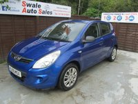 USED 2009 59 HYUNDAI I20 1.2 CLASSIC 5d 77 BHP FINANCE AVAILABLE FROM £24 PER WEEK OVER TWO YEARS - SEE FINANCE LINK FOR DETAILS
