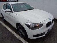 2013 BMW 1 SERIES 2.0 116D SPORT 5d 114 BHP £8675.00