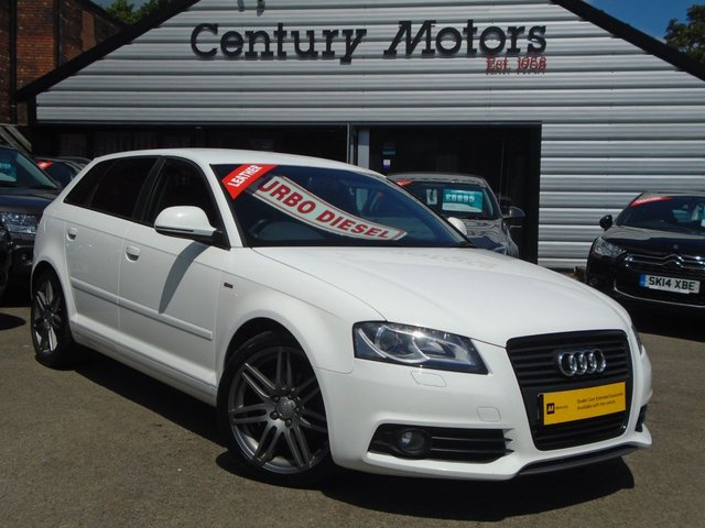 2009 59 AUDI A3 2.0 TDI SPORTBACK BLACK EDITION 5d + LEATHER