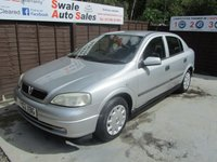 USED 2002 02 VAUXHALL ASTRA 1.6 ENVOY 5d AUTO 85 BHP SEE FINANCE LINK FOR DETAILS