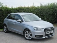 USED 2015 59 AUDI A1 1.6 SPORTBACK TDI SPORT 5d * ECONOMICAL * AVG 80.7 MPG * FRONT AND REAR PARKING SENSORS *