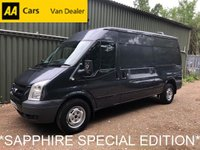 2011 FORD TRANSIT 2.4 350 SAPPHIRE *115 BHP*SPECIAL EDITION MODEL*AIR CON*HEATED SCREEN* £6495.00