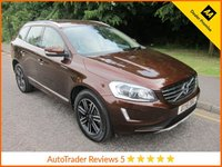USED 2016 16 VOLVO XC60 2.4 D5 SE LUX NAV AWD 5d AUTO 217 BHP Fantastic Value One Owner Automatic Volvo XC60 SE LUX with Full leather, Satellite Navigation, Climate Control, Cruise Control, Alloy Wheels and Volvo Service History.   This Vehicle is ULEZ Compliant with a EURO 6 Rated Engine