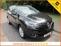 USED 2017 17 RENAULT KADJAR 1.5 DYNAMIQUE NAV DCI 5d AUTO 110 BHP Great Value One Owner Automatic Renault Kadjar with Satellite Navigation, Climate Control, Cruise Control, Alloy Wheels and Renault Service History. This Vehicle is ULEZ Compliant with a EURO 6 Rated Engine.