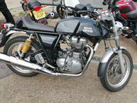 USED 2015 65 ROYAL ENFIELD CONTINENTAL 535cc CONTINENTAL GT  UPRIGHT BARS NICE BIKE