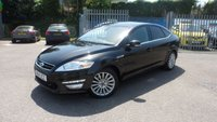USED 2014 14 FORD MONDEO 2.0 ZETEC BUSINESS EDITION TDCI 5d 161 BHP CRUISE CONTROL
