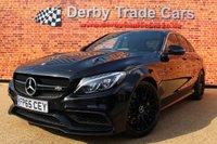 2015 MERCEDES-BENZ C CLASS 4.0 AMG C 63 PREMIUM 4d AUTO 469 BHP £32990.00