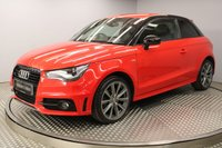 USED 2014 64 AUDI A1 1.6 TDI S LINE STYLE EDITION 3d 103 BHP