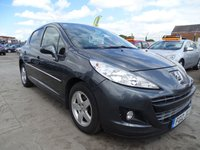 2012 PEUGEOT 207 1.4 SPORTIUM DRIVES EXCELLENT LOW MILES £3600.00