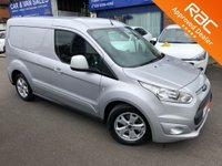 2018 FORD TRANSIT CONNECT 1.5 200 LIMITED P/V 1d 118 BHP £12250.00