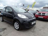 2013 PEUGEOT 107 1.0 ACCESS 3d GREAT FIRST CAR £2795.00