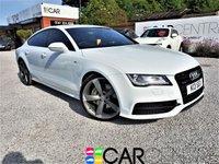 2014 AUDI A7 3.0 TDI QUATTRO BLACK EDITION 5d AUTO 313 BHP £19595.00