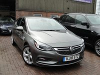 USED 2018 18 VAUXHALL ASTRA 1.4 SRI 5d 148 BHP ANY PART EXCHANGE WELCOME, COUNTRY WIDE DELIVERY ARRANGED, HUGE SPEC