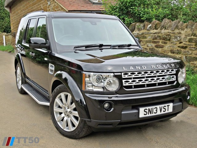 2013 13 LAND ROVER DISCOVERY 3.0 4 SDV6 XS 5d AUTO 255 BHP