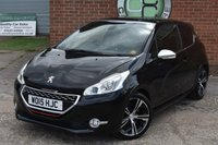 2015 PEUGEOT 208 1.6 THP GTI LIMITED EDITION 3d 200 BHP £7990.00