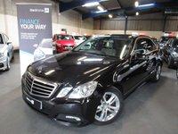 2010 MERCEDES-BENZ E CLASS 2.1 E250 CDI BLUEEFFICIENCY AVANTGARDE 4d AUTO 204 BHP £7990.00