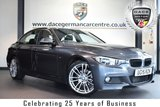 "USED 2015 15 BMW 3 SERIES 2.0 320D M SPORT 4DR AUTO 181 BHP * NO ADMIN FEES * FINISHED IN STUNNING MINERAL METALLIC GREY WITH FULL BLACK LEATHER INTERIOR + PRO SATELLITE NAVIGATION + BLUETOOTH + DAB RADIO + CRUISE CONTROL + LIGHT PACKAGE + SPORT SEATS + RAIN SENSORS + AUTO AIR CON + PARKING SENSORS + 19"" ALLOY WHEELS"