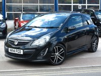 USED 2014 14 VAUXHALL CORSA 1.4 BLACK EDITION 3d 118 BHP
