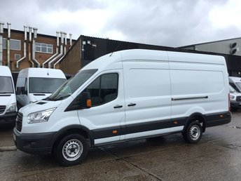 2016 FORD TRANSIT 2.2TDCI T350 LWB JUMBO L4 H3 HIGH ROOF 125BHP. FINANCE. PX £9450.00