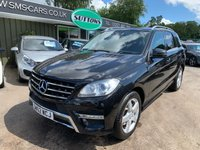 2012 MERCEDES-BENZ M CLASS 2.1 ML250 BLUETEC SPORT 5d AUTO 204 BHP £15495.00