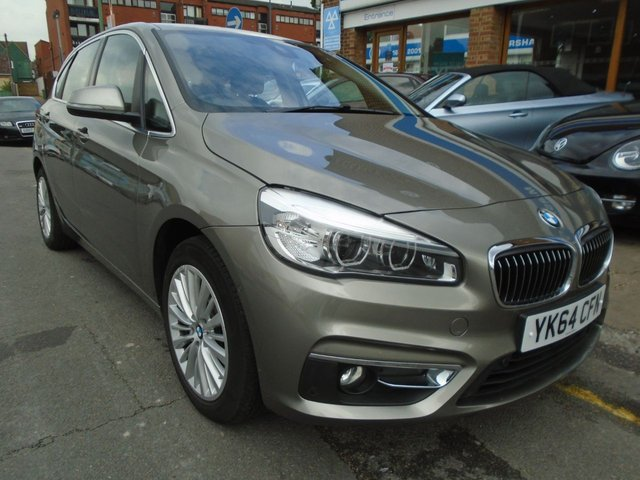 2014 64 BMW 2 SERIES 2.0 218D LUXURY ACTIVE TOURER 5d 148 BHP ULEZ EXEMPT